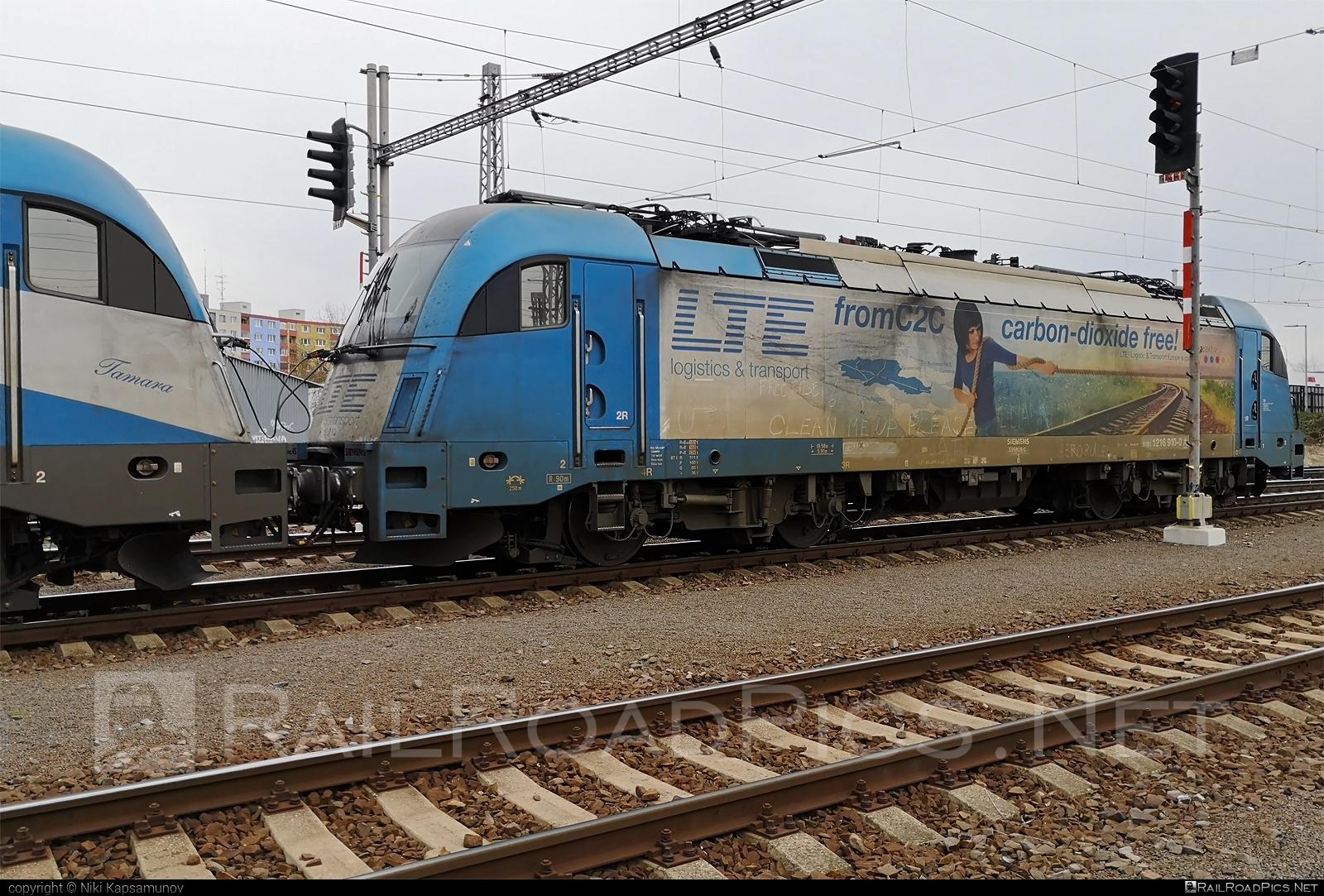 Siemens ES 64 U4 - 1216 910 operated by Adria Transport D.O.O. #adria #es64 #es64u #es64u4 #eurosprinter #lte #ltelogistikundtransport #ltelogistikundtransportgmbh #siemens #siemenses64 #siemenses64u #siemenses64u4 #siemenstaurus #taurus #tauruslocomotive