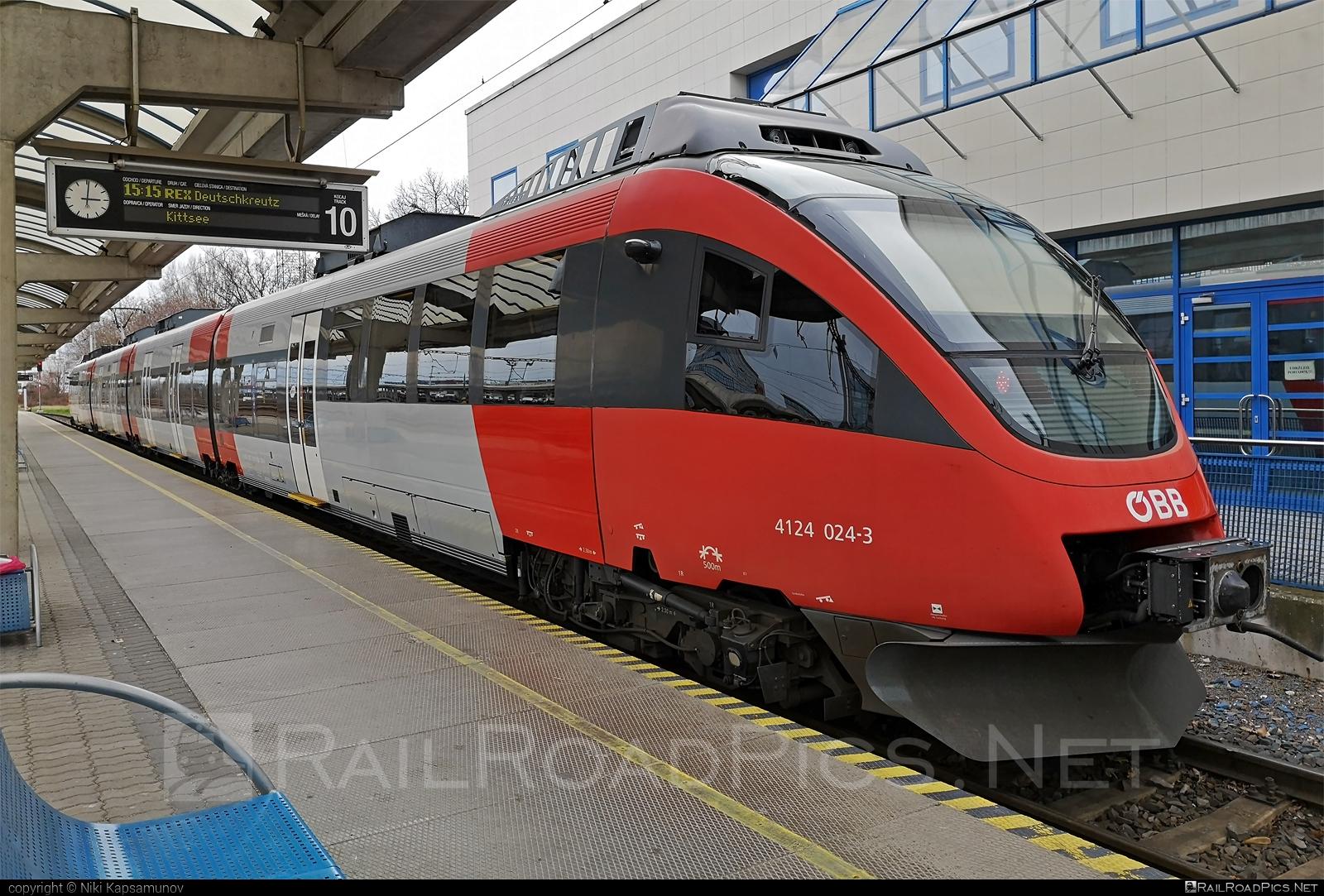 Bombardier Talent - 4124 024-3 operated by Österreichische Bundesbahnen #bombardier #bombardiertalent #obb #osterreichischebundesbahnen