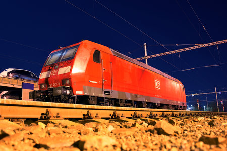 Bombardier TRAXX F140 AC1 - 185 047-8 operated by DB Cargo AG