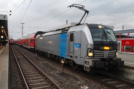 Siemens Vectron AC - 193 804-2 operated by DB Regio AG