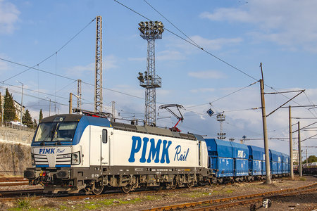 Siemens Vectron AC - 80 962 operated by PIMK Rail PLS