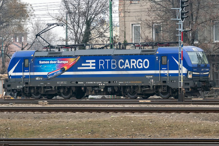 Siemens Vectron MS - 193 791 operated by RTB Cargo GmbH