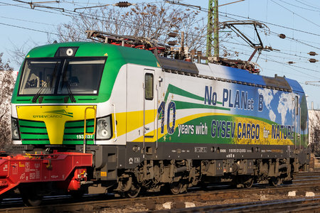 Siemens Vectron MS - 193 837 operated by GYSEV Cargo Zrt