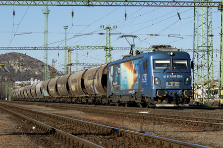 Softronic Transmontana - 480 029-0 operated by LTE-RAIL ROMANIA SRL