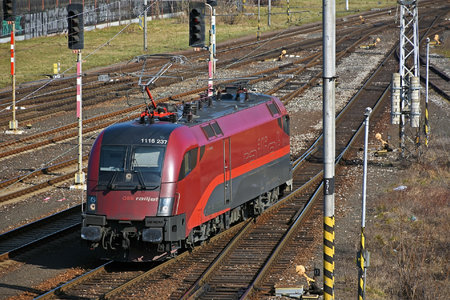 Siemens ES 64 U2 - 1116 237 operated by Rail Cargo Austria AG