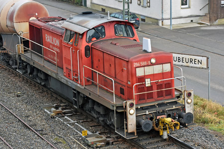Deutz V90 - 294 588-9 operated by DB Cargo AG