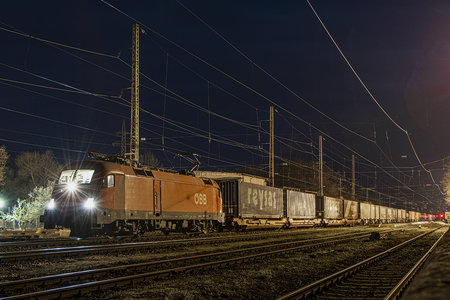 Siemens ES 64 U2 - 1116 073 operated by Rail Cargo Carrier - Bulgaria
