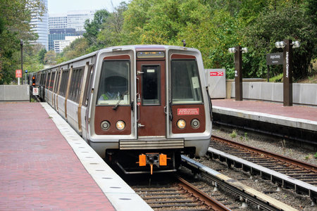 Breda WMATA 3000-series - 3275 operated by Washington Metropolitan Area Transit Authority