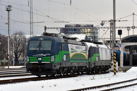 Siemens Vectron AC - 193 246-6 operated by GYSEV Cargo Zrt