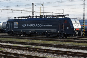 Siemens ES 64 F4 - 189 153-0 operated by PKP CARGO INTERNATIONAL a.s.