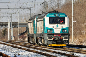 CZ LOKO EffiLiner 1600 - 753 611-3 operated by UNIPETROL DOPRAVA, a.s.
