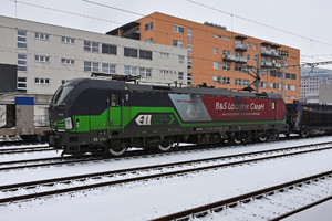 Siemens Vectron AC - 193 284 operated by Wiener Lokalbahnen Cargo GmbH