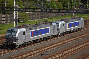 Siemens Vectron MS - 383 402-5 operated by METRANS, a.s.