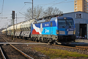 Siemens Vectron MS - 383 009-8 operated by ČD Cargo, a.s.