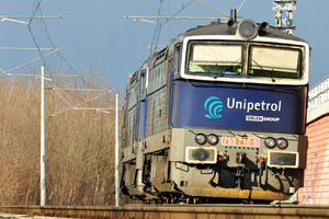 ČKD T 478.3 (753) - 753 718-6 operated by UNIPETROL DOPRAVA, a.s.