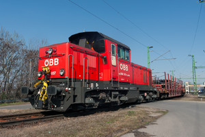 Jenbacher ÖBB Class 2068 - 2068 057 operated by Rail Cargo Hungaria ZRt.