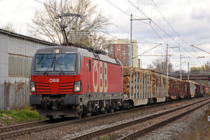 Siemens Vectron MS - 1293 024 operated by Rail Cargo Austria AG