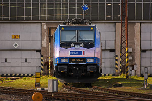 Bombardier TRAXX F140 MS - 186 534-4 operated by METRANS Rail (Deutchland) GmbH