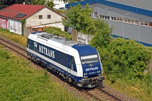 Siemens ER20 - 761 007-4 operated by METRANS (Danubia) a.s.