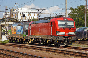 Siemens Vectron MS - 193 376 operated by DB Cargo AG