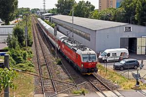 Siemens Vectron MS - 383 105-4 operated by Železničná Spoločnost' Slovensko, a.s.