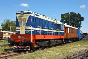 ČKD T 458.1 (721) - 721 079-2 operated by Železnice Slovenskej Republiky