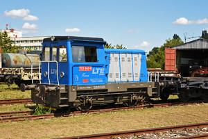 Turčianske strojárne Martin T 212.1 (703) - 703 040-6 operated by LTE Logistik a Transport Slovakia, s.r.o.