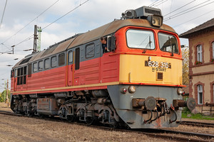 Lugansk M62 - 628 315 operated by MÁV-START ZRt.