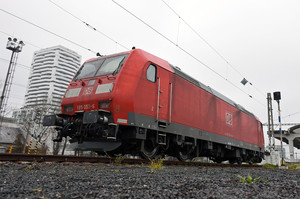 Bombardier TRAXX F140 AC1 - 185 053-6 operated by DB Cargo AG