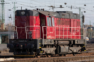 ČKD T 448.0 (740) - 620 163-8 operated by Continental Railway Solution Kft.