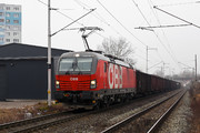Siemens Vectron MS - 1293 196 operated by Rail Cargo Austria AG