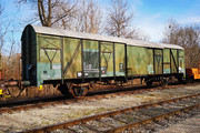 Class G - ÖBB workshop car - 40 81 9436 560-2 operated by Rail Cargo Austria AG