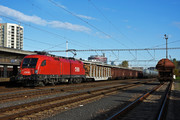 Siemens ES 64 U2 - 1116 056 operated by Rail Cargo Austria AG